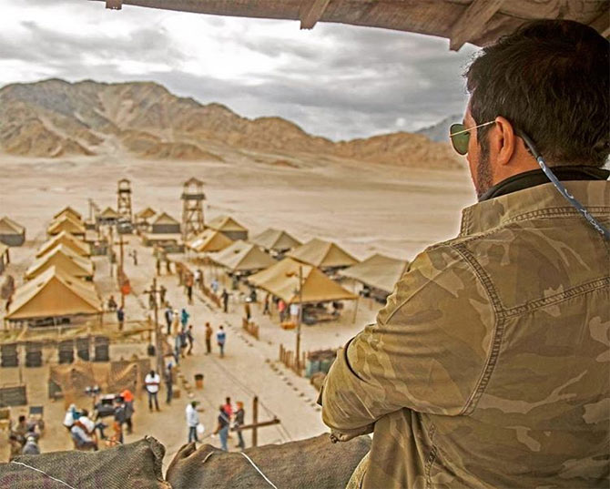 Salman Tubelight photos war