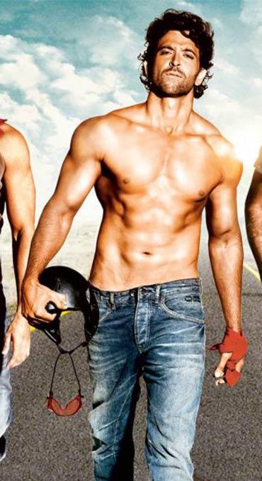 Bollywood heros body in year 2011 and so being salman khan hrithik roshan zindagi na milegi dobara body altavistaventures Images